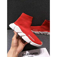 Balenciaga New Fashion Couple Boots Fashion Breathable Leisure Sneakers Running Shoes