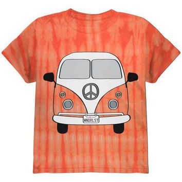 PEAPGQ9 Halloween Travel Bus Costume Camper Wanderlust Youth T Shirt