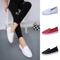 Flat Loafers Slip On Shoes