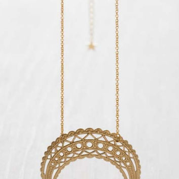 MOROCCAN MOONRISE NECKLACE