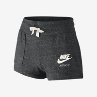 The Nike Gym Vintage Big Kids' (Girls') Shorts (XS-XL).