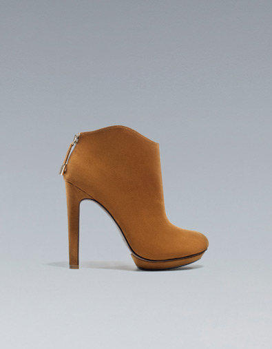 HIGH HEEL PLATFORM ANKLE BOOT - Shoes - Woman - ZARA United Kingdom