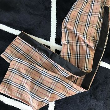 Burberry Vintage Check Drawcord Trousers