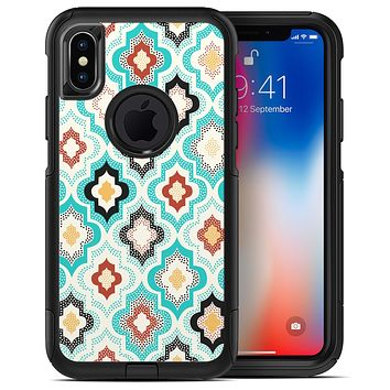 Dotted Moroccan pattern - iPhone X OtterBox Case & Skin Kits