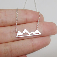 Chic Mountain Necklace