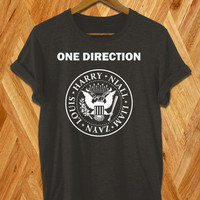 one direction shirt  harry styles shirt black white and grey colors  size s-xxl available
