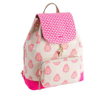Canvas Block Print Day Pack