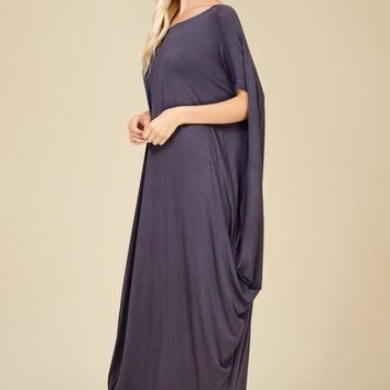 Grecian Relaxed Dress