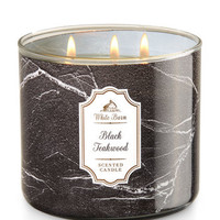 BLACK TEAKWOOD3-Wick Candle