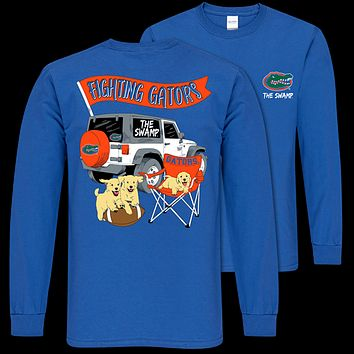 Southern Couture Classic Florida Gators Jeep Long Sleeve T-Shirt
