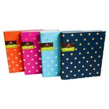 Greenroom 1in Metallic Dot/Stripe Ring Binder
