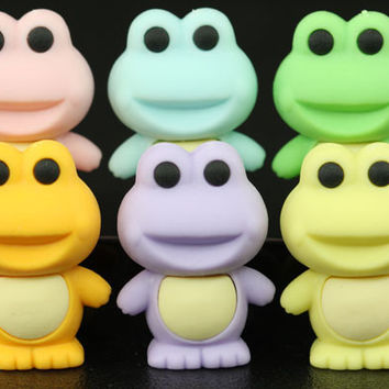 Set of 6 Series Two Frogs