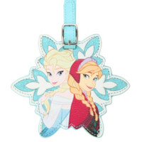 Disney Frozen Anna & Elsa Luggage Tag