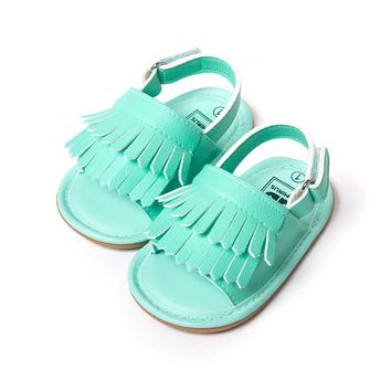 stylish pu leather tassel baby moccasins tassel girls baby shoes Scarpe Neonata hook a