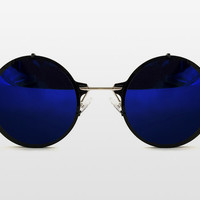 Infinity Blue Mirrored Sunglasses by Spitfire