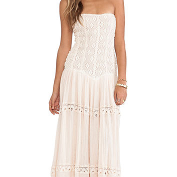 Jen's Pirate Booty Cherokee Rose Maxi in Blush