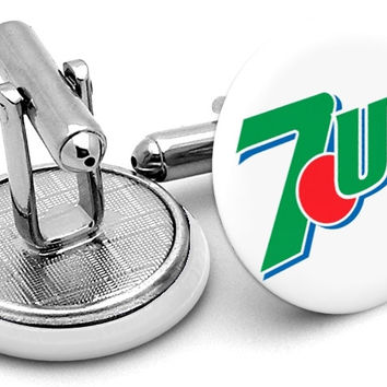 7up Logo Cufflinks