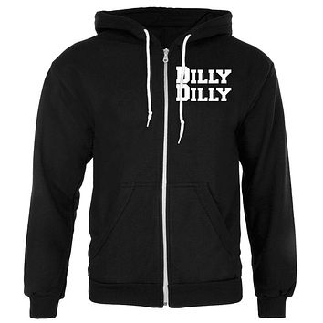 Dilly Dilly Mens Full Zip Hoodie