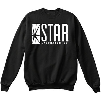S.T.A.R Laboratories STAR Labs Sweatshirt Crewneck Pullover - Premium Quality