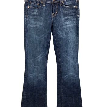 Citizens of Humanity Ingrid #002 Stretch Low Waist Flare Jeans Womens 24 (27x34) - Preowned