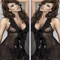 On Sale Hot Deal Cute Ladies Lace See Through Socks Sexy Exotic Lingerie [6595912643]