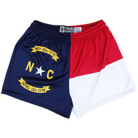 North Carolina Flag Womens Sport Shorts