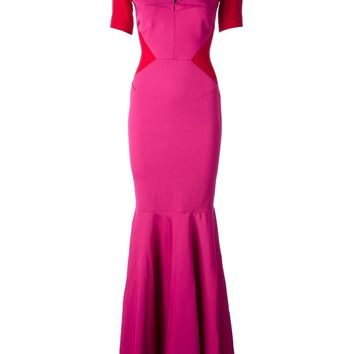 Roland Mouret long panelled dress