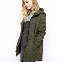 ASOS Oversized Cocoon Parka