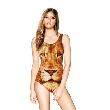 Sexy Comfortable Summer High Quality 3D Print Stylish Casual Quick Dry Stretch Swimwear [6049134081]