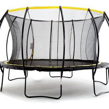 Stratos 14ft Trampoline With Full Enclosure Net System