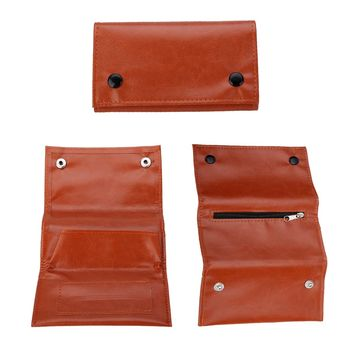 Portable PU Leather Cigarette Tobacco Pipe Pouch Purse Wallet Case Bag Holder For Smoking Accessories Mayitr