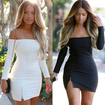Women Summer Bandage BodyCon Evening Sexy Party Cocktail MINI Dress