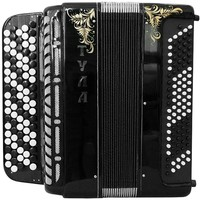Brand New 5 Rows Bayan Tula 209 B-system Stradella, Russian Chromatic Button Accordion, High-class Musical Instrument, Bn-49-3, 5 Row 100 Bass