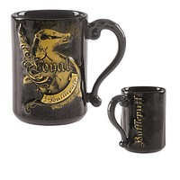 Universal Studios Wizarding World Harry Potter Hufflepuff Loyal Coffee Mug New