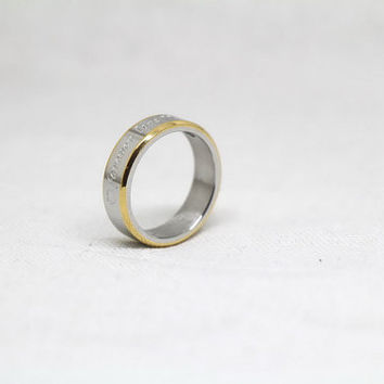 Free Engraving, siver  Ring,promise ring,couple Rings, Lovers rings