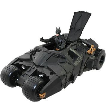 Free shipping The Dark Knight BATMAN BATMOBILE Tumbler BLACK CAR Vehecle Toys Action Figure Collection Model dolls #022