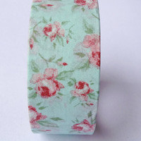 Washi Masking Tape Roll Adhesive Stickers  Cottage by CharmTape