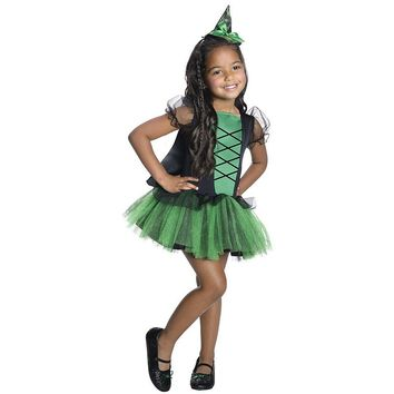 Wizard of Oz Wicked Witch of the West Tutu Costume - Kids (Green)