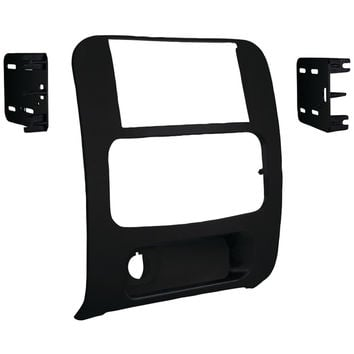 Metra 2002-2007 Jeep Liberty Double-din Installation Kit Matte Black