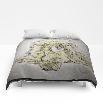 White Elephant Gift Comforters by Jessica Ivy