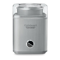 Cuisinart® Stainless Steel Ice Cream Maker