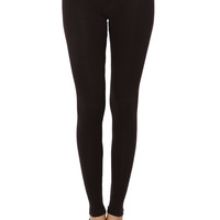 essential black leggings