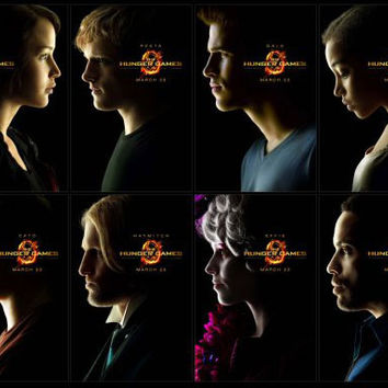 Hunger Games Movie Poster #02 24x36 All Characters