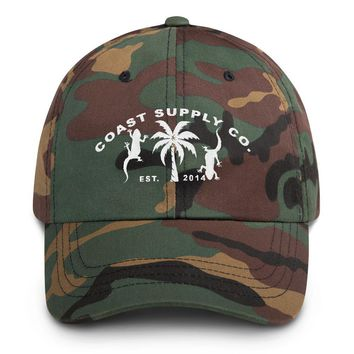 Lizards and Palms Supply Co. Unstructured Camo Sport Hat