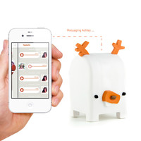 I liked this design on #Fab. Buck Audio Messaging Toy