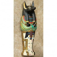 Design Toscano Icons of Ancient Egypt Anubis Wall Sculpture - WU68834