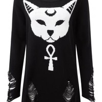 KILLSTAR PURRFECT KNIT SWEATER