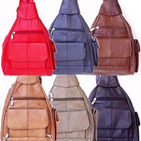 Cow-Hide Pockets BackPack
