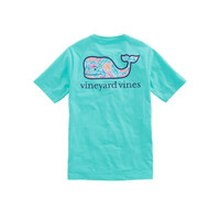 Boys Gulf Tropical Whale Fill Pocket T-Shirt