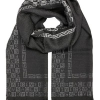 DCCK3SY Versace Collection Black Ombre Scarf